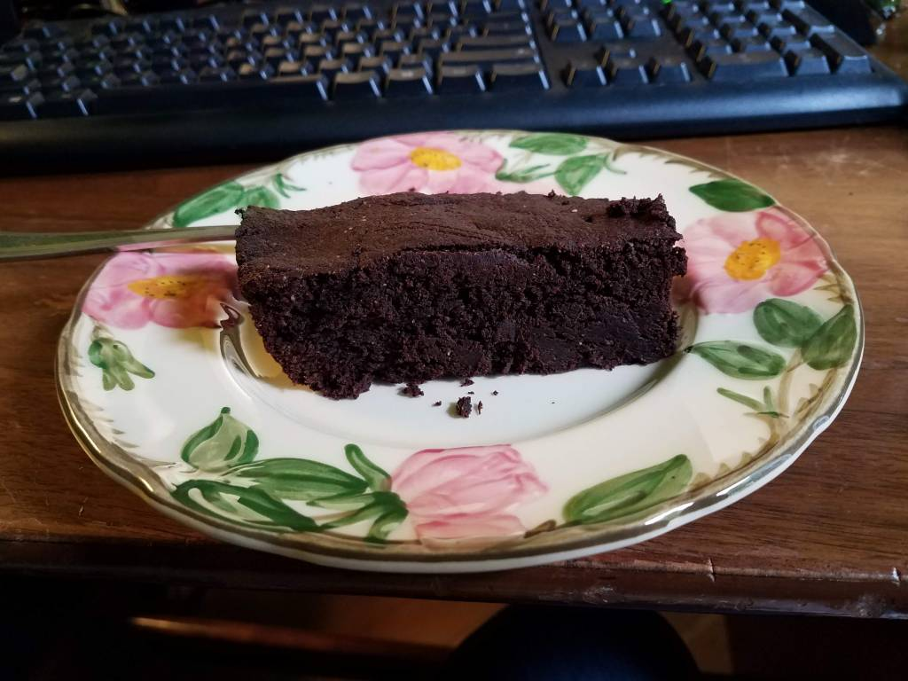 Slice of delicious Brownies.