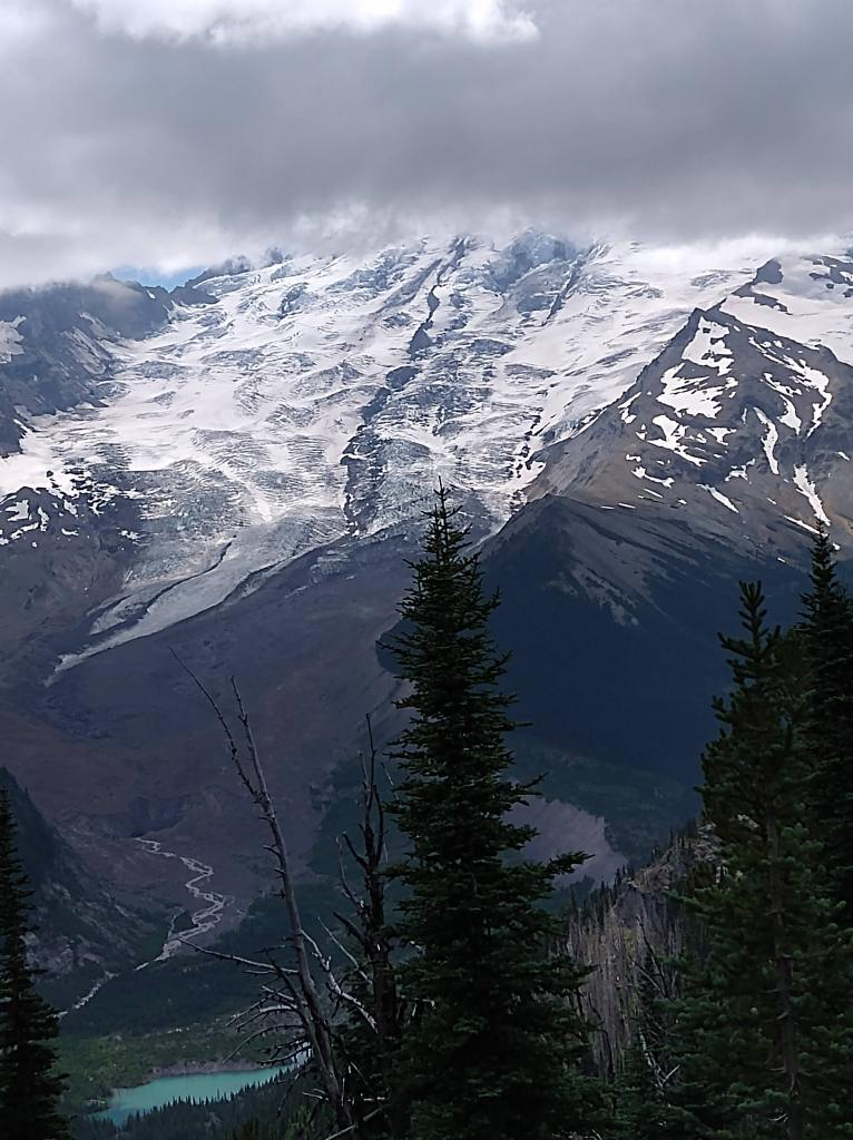 Photo of Mt. Rainier from the wonderland trail.