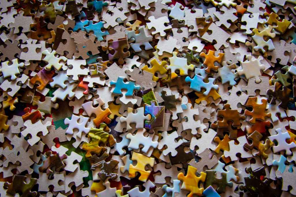 Life is a puzzle. Some days in life, puzzle pieces match up witin and you learn something.