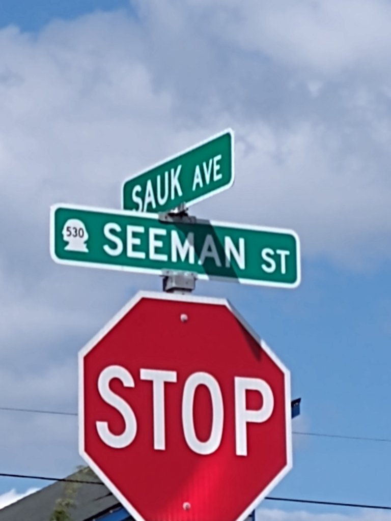 Actual place in Washington state, Stop Semen Sock! 🤣